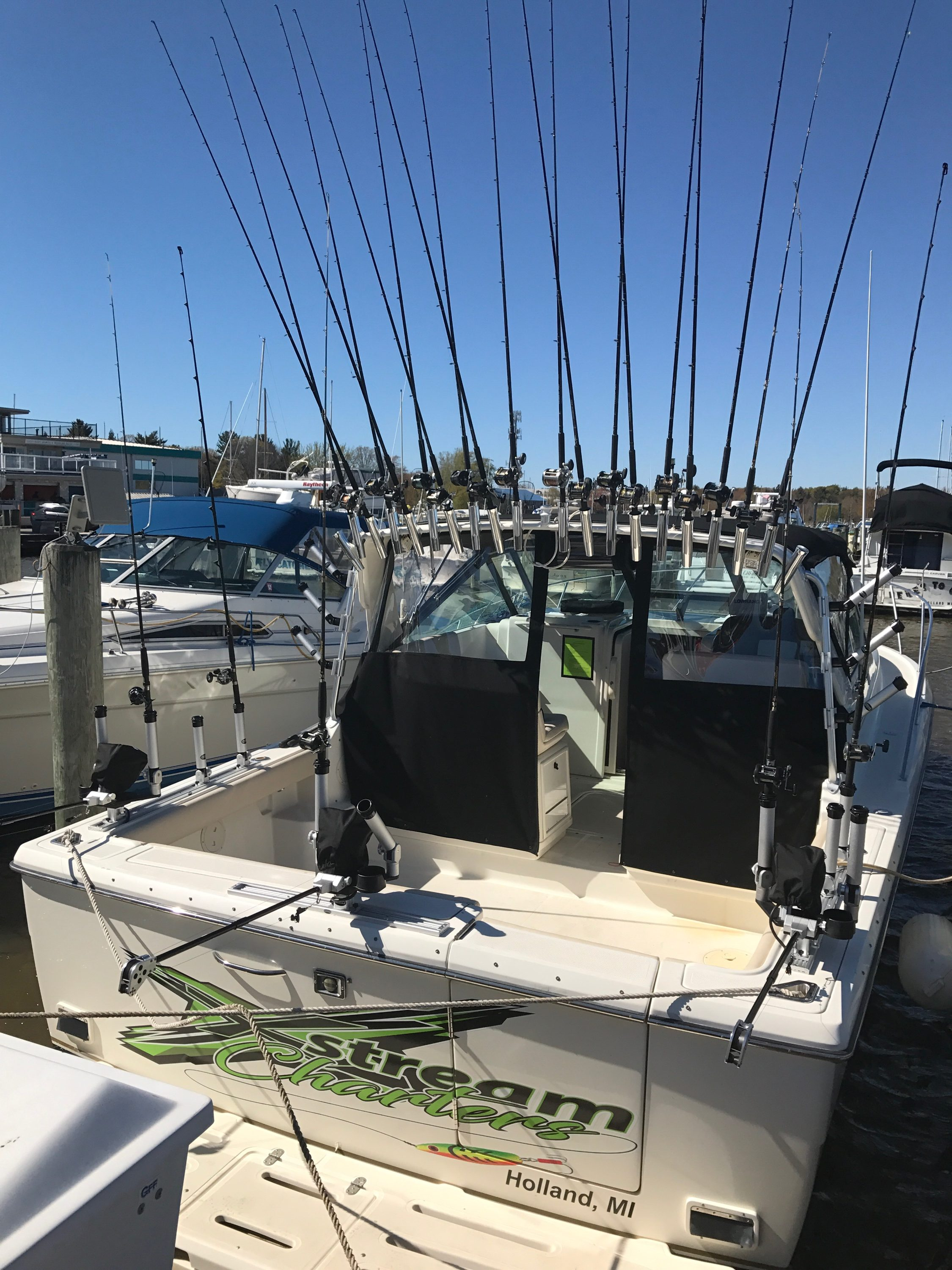 Xstream Charters Fishing Charters Holland Michigan