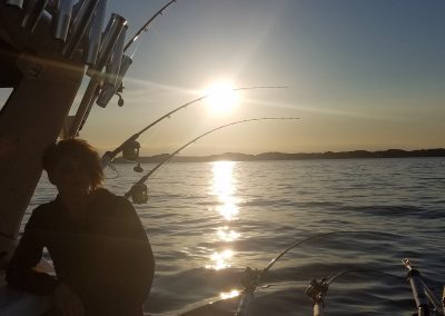 Sunset on Xstream Charter
