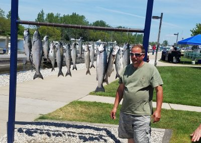 Entire catch on Xstream charter trip