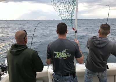 Xstream Charter Fishing Lake Michigan