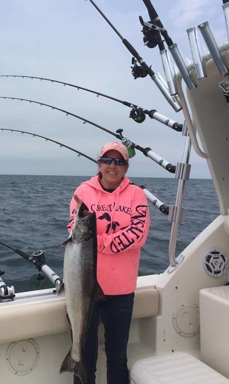 Charter Fishing on Lake Michigan with Xstream Charters